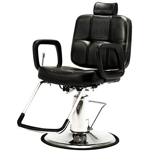 Artist Hand Hydraulic Recline Barber Chair Salon...