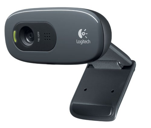 Logitech C270 3MP 1280 x 720Pixel USB 2.0 Schwarz Webcam - Webcams (3 MP, 1280 x 720 Pixel, 30 fps, 720p, 2048 x 1536 Pixel, USB 2.0)