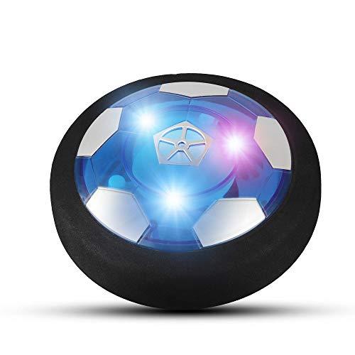 Etpark Pallone Calcio Fluttuante Ricaricabile, Hover Ball Calcio da Interno con Luci LED Hover Soccer Ball Compleanno Natale Regali per Ragazzi Ragazze Giochi 3 4 5 6 7 8 9 10 Anni