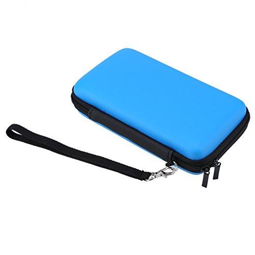 Estojo de armazenamento rígido de proteção, Azul, 1