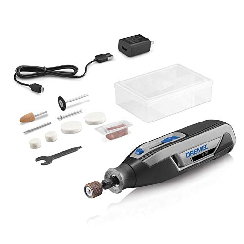 Dremel Lite 7760 N/10 4V LiIon Cordless Rotary Tool Variable Speed MultiPurpose Rotary Tool Kit USB Charging Easy Accessory Changes  Perfect For LightDuty DIY amp Crafting