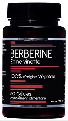 Berbérine 500 mg - Epine Vinette - 60 Gélules - Nutrivie