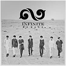 INFINITE [BE BACK] 2nd Repackage Album CD+Photobook(Booklet)+Tracking Number K-POP SEALED