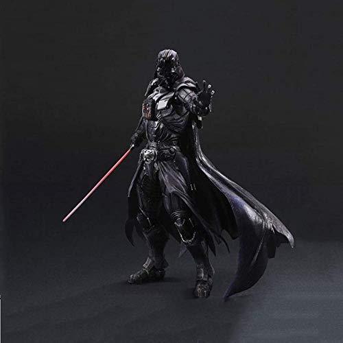 lkw-love Juego de Anime Star Wars/Star Wars/Modelo de Dibujos Animados móvil/Darth Vader Figura Juguete Altura 27cm