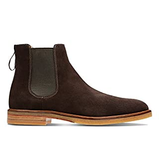 Clarks Men's Clarkdale Gobi Chelsea Boots, Brown (Dark Brown Suede), 9 UK (B06XCH7ZRY) | Amazon price tracker / tracking, Amazon price history charts, Amazon price watches, Amazon price drop alerts