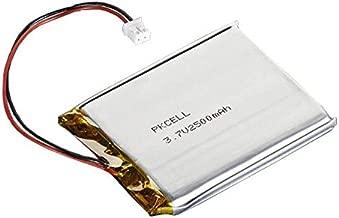 Adafruit 328 Battery, Lithium Ion Polymer, 3.7V, 2500mAh, 2