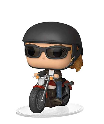 Funko Pop! Rides – Capitán Marvel – Carol Danvers on Motorcycle #57 - Figuras de vinilo de 15 cm realeased 2019