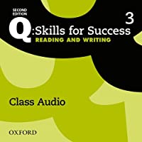 Q: Skills for Success: Level 3: Reading & Writing Class Audio CD (x3)