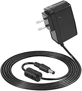 9V DC Power Adapter – Minimize Need to Change Batteries on Pedalboard and Other Devices Requiring 9V – 500mA Max Current – Tip-Negative, Sleeve-Positive Power Supply