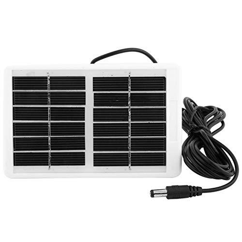 Emoshayoga Cargador Solar Impermeable del Cargador Solar del Banco de energía para Smartphone