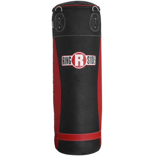 Ringside Large Leather Boxing Punching Heavy Bag, 130 lb