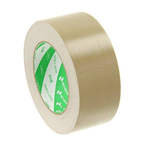 ニチバン 布粘着テープ No.102N 0.30mm厚 幅50mm×長さ25m巻 茶 1巻