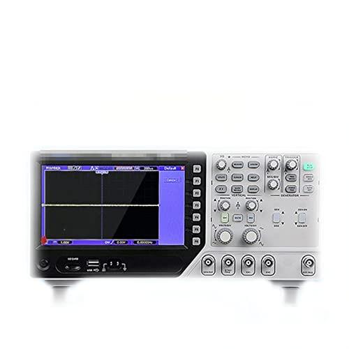 HEQIE-YONGP Osciloscopio Digital Osciloscopio DSO4072S / DSO4102S/ DSO4202S 2 Osciloscopio del Canal+ generador de señales (Size : DSO4202S (200M))