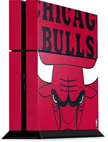 Skinit Decal Gaming Skin for PS4 Console - Officially Licensed NBA Chicago Bulls Large Logo Design