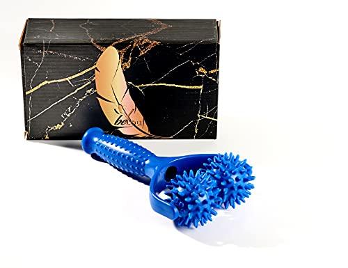 beYou® Massageroller mit Griff - [Bruchfest dank Carbon-Einsatz] Hochwertiger Premium Massageroller - inkl. Geschenkbox