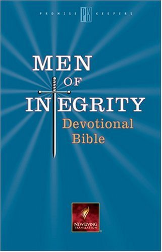 Men of Integrity Devotional Bible- New Living Translation