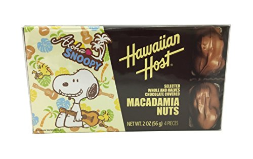ハワイアンホースト・ジャパン スヌーピー マカデミアナッツチョコレート 56g