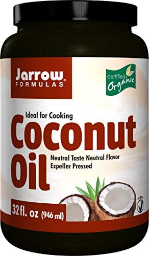 Jarrow Formulas Coconut Oil 100 Organic 32 FL OZ Pack of 2 product image