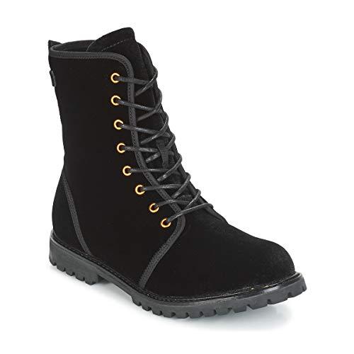 ESPRIT LANDY VELVET Enkellaarzen/Low boots dames Zwart Laarzen