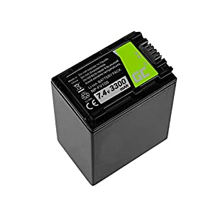 Green Cell® Camera Replacement Battery Pack for Sony HDR-PJ410, Full Decoded (Li-Ion cells 3300mAh 7.4V)