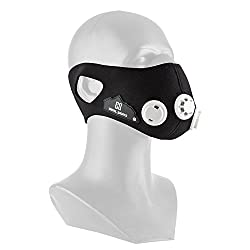 Capital Sports Breathor endurance training mask altitude training breathing mask for climbers (size S, weight ca 140g, 7 essays, simulation of heights between 900 and 5500 m) black