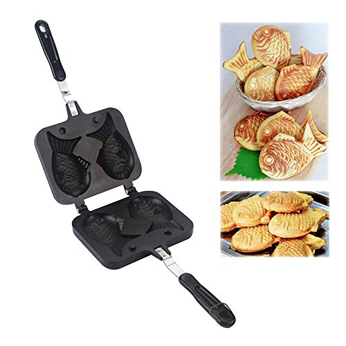 CROWNXZQ Taiyaki Fish-Shaped Cake Pan