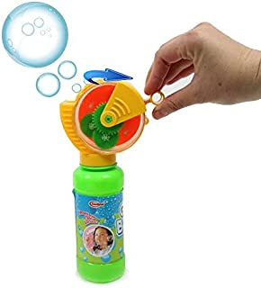 squeeze and blow pop up bubbles