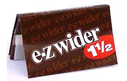 EZ WIDER 1 1/2 Rolling Papers 6 BOOKLETS