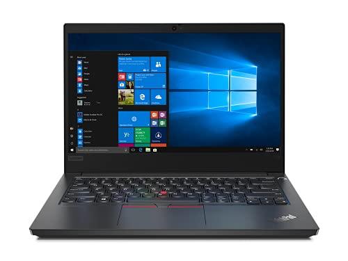 Lenovo ThinkPad E14 - Portátil 14  FullHD (Intel Core i3-10110U, 8GB RAM, 256GB SSD, Intel UHD Graphics, Windows 10 Pro), Negro - Teclado QWERTY Español