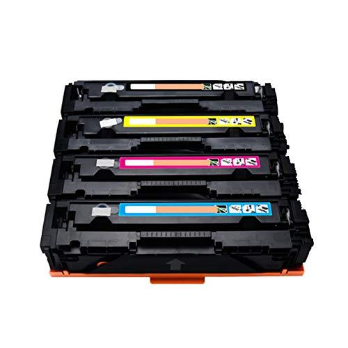 GYYG para HP 201A para HP Color Laserjet Pro M252DW M277N M277DW M252N M274N Impresora Compatible con el reemplazo del Cartucho de tóner con Suministros educativos de chi Set