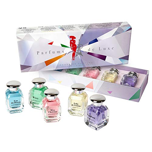 Charrier Parfums Luxus-Eau de Parfum Miniatuur, 60 ml, 5 stuks