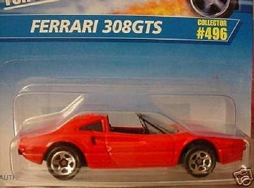 suministro de productos de calidad Hot Wheels 1996 rojo Ferrari 308GTS 308GTS 308GTS  496 1 64 Scale by Hot Wheels  ventas en linea