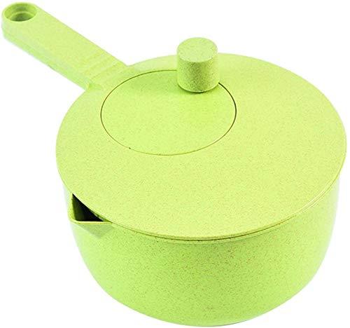 RDJSHOP Salatschleuder Pflanzlich Cleaner PP-Material Hat Eine Unabhängige Trennstruktur Mit Der Funktion des Wasser-Entleerung Und Lagerung (Color : Green)