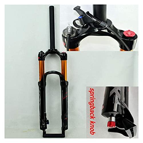 WDYLSNB Amortiguador MTB Bicicleta de montaña Horquilla neumática 26'27.5' 29 Pulgadas ER 1-1/8'Horquillas de suspensión Capacidad de Carga de Gas-línea de amortiguación de Aceite Bloqueo-fre