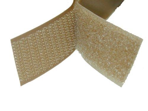 """1"""" Coyote Brown Sew On Hook and Loop - 5 Yds of Hook and 5 Yds of Loop Per Package 5 Yd"""