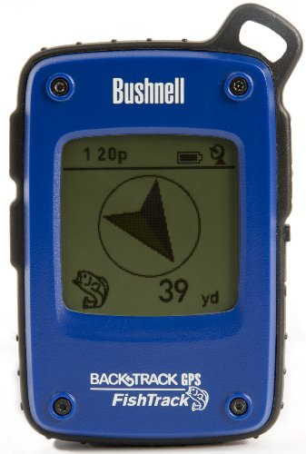 Bushnell FishTrack Personal GPS Tracking Device, Blue/Black