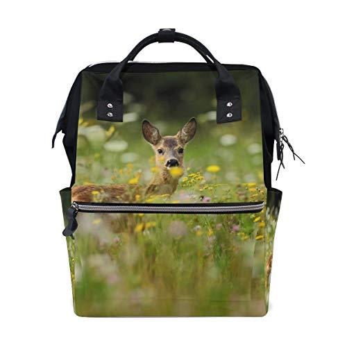 Roe Reh Wickeltaschen Mumien-Tasche, große Kapazität, Multifunktions-Rucksack für Reisen