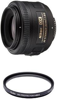 Nikon 単焦点レンズ AF-S DX NIKKOR 35mm f/1.8G ニコンDXフォーマット専用 & Kenko カメラ用フィルター MC プロテクター NEO 52mm レンズ保護用 725207