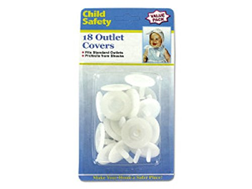 Child Safety Outlet Plugs – Child Proof – 18 Value Pack by Child Safety