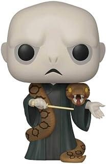 Funko Figura de Harry Potter Lord Voldemort con Nagini Pop N