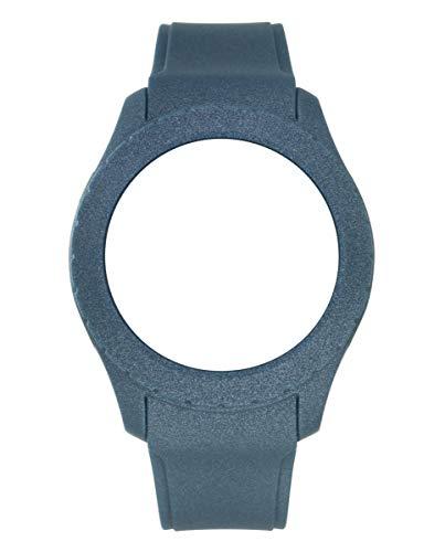 Correa de silicona de Watx. Modelo Smart Sparkling / Metal Blue / 49mm. Referencia COWA3721.