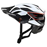 Troy Lee Designs Adulto | All Mountain | Casco de bicicleta de montaña Half Shell A3 Proto W/MIPS (Blanco, XL/XXL)