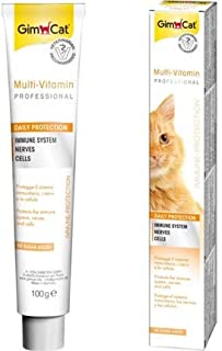 Gimcat Multi-vitamin Paste + 12 Vitamins Enhances the Cat's Natural Defences and Well-being 100 G.