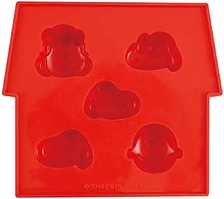 大西贤制贩 冰碟 红色 15.4×13.6×H2.8 PB-900