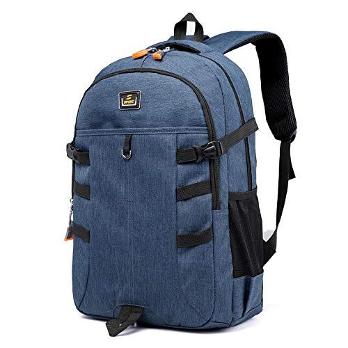 Mochila de estudiante Mochila de moda para hombres, mochila, estudiantes grandes y...