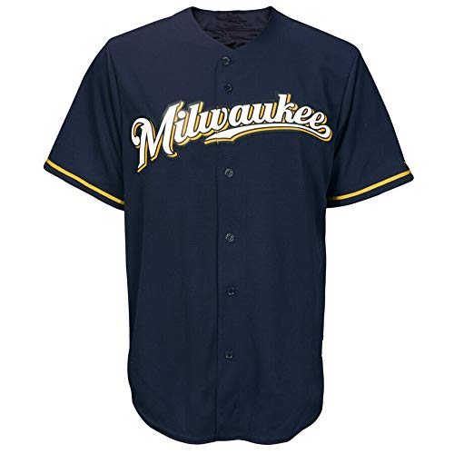 Li Largo Milwaukee Brewers 22# Yelich (Color : 4, Size : M)
