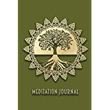 Meditation Journal: Blank Lined Wide Ruled to Write In 6x9 Gift for Meditators