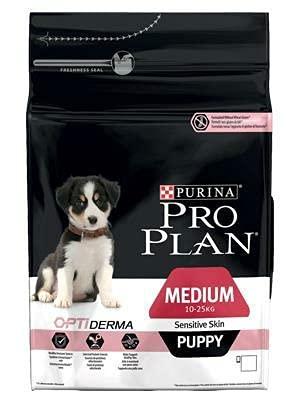 PRO PLAN Med.Puppy SENS.Skin Salm. kg.12