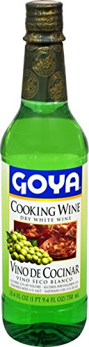 Goya Foods White Cooking Wine, 25.4 Ounce (Pack of 12)