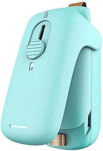 Embasadoras Vacio Maquina Vacio Alimentos Máquina de envasado al vacío liviana Mini sellador de bolsas Mini sellador térmico portátil de bolsas de plástico de uso doméstico para frascos de sella